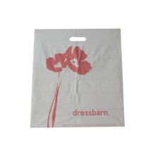HDPE White Side Sealed Die Cut Bag