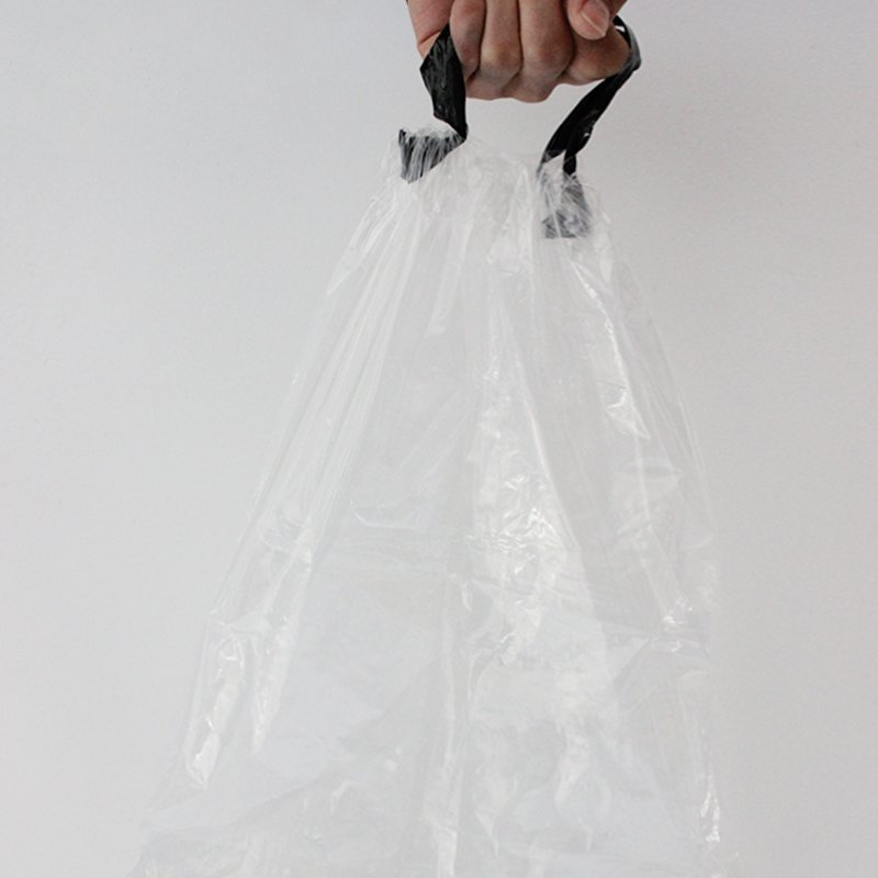 LDPE Clear Draw Tape Bag
