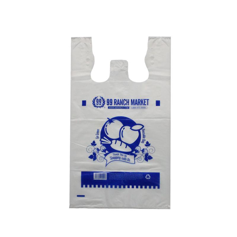 HDPE Clear 2.25mil T-shirt Bag