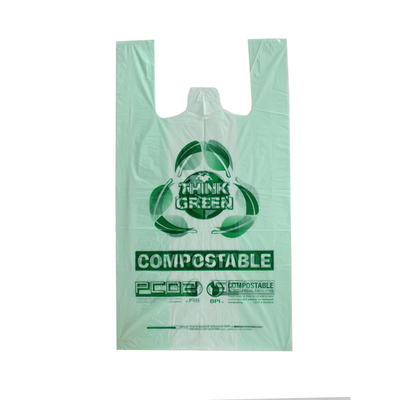 100% Biodegradable T-shirt Bag