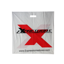 LDPE Large side sealed Die cut bag
