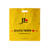 LDPE Yellow Fold over Side Sealed Die Cut Bag