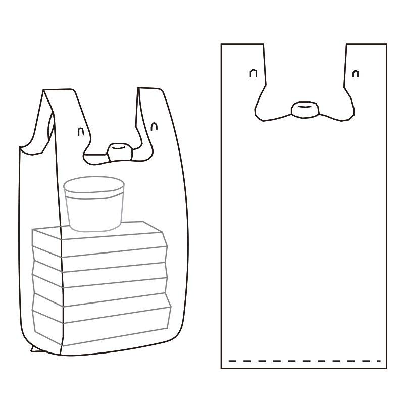 Target Easy-open T-shirt Bag