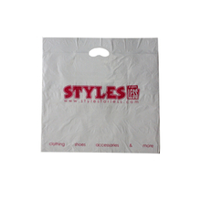 HDPE White Die Cut Bag
